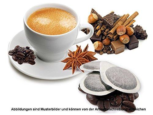 ESE PADS 44mm - Probierset - 50 Stück Kompatible Flavored Kaffeepads von Caffè Bonini Italien - 5 Geschmacksrichtungen ( Je 10 Pads Flavored Kaffee )