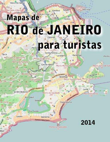 Mapas de Rio de Janeiro para Turistas por Hernán Maglione