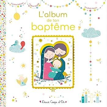 L'album de mon baptême - livre avec icône sur bois
