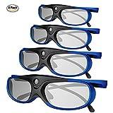Best Dlp Link 3d Glasses - 3D DLP Link Glasses, ELEPHAS 144Hz Rechargeable Active Review