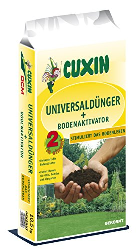 CUXIN DCM Universaldünger + Bodenaktivator 10 kg