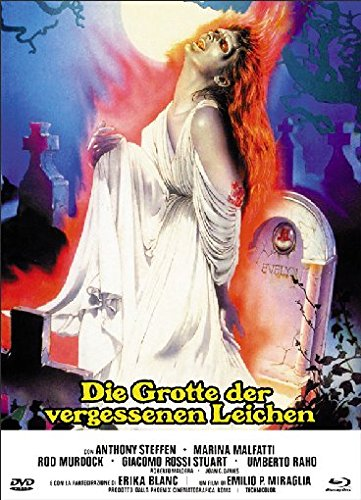Die Grotte der vergessenen Leichen - Uncut/Mediabook  (+ DVD) [Blu-ray] [Limited Edition] (La Rod Blanca)