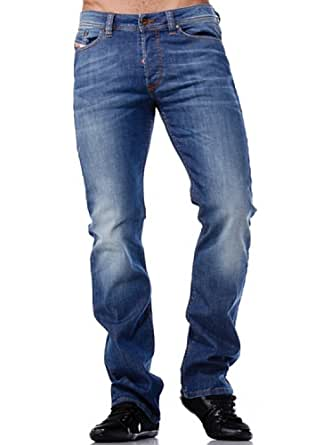 Diesel-Jeans Diesel Viker 0RY50 Stretch Regular Straight Couleur Bleu Taille W34 / L32 - (fr T44)