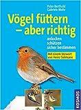 Vögel füttern - aber richtig: Anlocken, schützen, sicher bestimmen - Peter Berthold, Gabriele Mohr