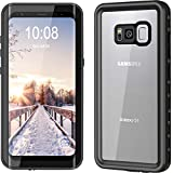 YMCCOOL Galaxy S8Wasserdicht Fall, Full Schutz Schock/Snow/schmutzdicht mit IP68Zertifiziert Wasserdicht Fall für Samsung Galaxy S814,7cm