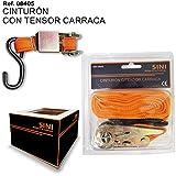 """Cinturón con Tensor 4500mm/15"""" Carraca Extra SINI"""