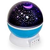 Projection Night Light lampe pour enfants–Sensory Enfant LED crée un Parfait Éclairage d'Humeur pour projecteur avec Slumber Starlight–Relaxant bébé Chambre Lumières–Idéal crèche Nightlights