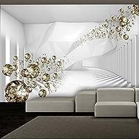 murando - Fototapete Abstrakt 150x105 cm - Vlies Tapete - Moderne Wanddeko - Design Tapete - Wandtapete - Wand Dekoration - Diamant optisch a-A-0188-a-b