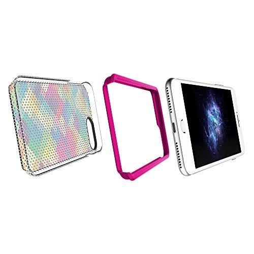 "Apple iPhone 7 Plus & iPhone 6 / 6s Plus 5.5"" Case, Prodigee [Muse] Pride Schutz dünn Hülle Stück dünner dünn for iPhone 7 Plus (2016) 5.5"" Cell phone case 2-piece fashionable design Multi-Colored"