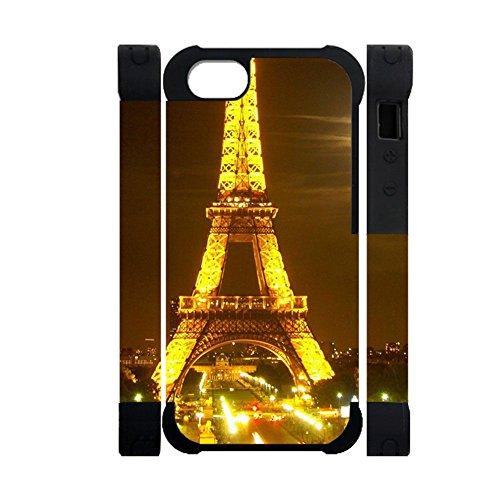 Gogh Yeah Design Eiffel Tower Verwenden F¨¹r iPhone 6 Plus Apple Komisch Women Schale aus Silikon und Hartplastik