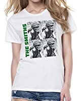 The Smiths Meat Is Murder Women's Fit Fashion Quality Heavyweight T-Shirt.