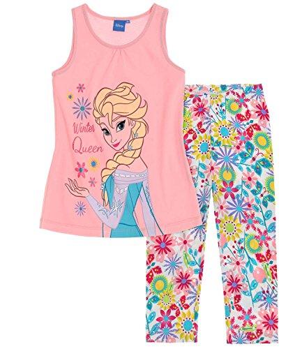 Disney Die Eiskönigin Elsa & Anna Mädchen T-Shirt mit Leggings - rosa - 116