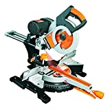 Evolution RAGE3-DB Double Bevel Multi-Purpose Sliding Mitre Saw, 255 mm (230V)