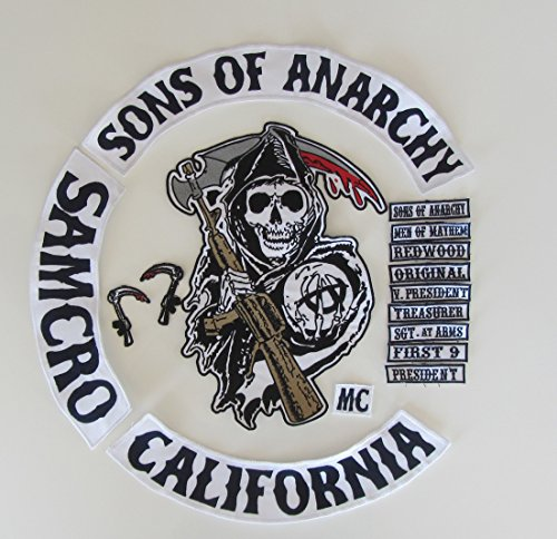 Kit patch Sons of Anarchy 16 pièces