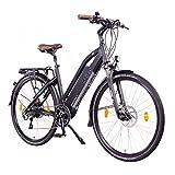 NCM Milano Plus E-Bike Trekking Rad, 250W, 48V 14 Ah/16Ah • 672Wh/768Wh Akku, 26