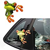 Cartoon 3D Frosch Hug Auto Aufkleber KFZ Fenster Wand Wasserdicht Sticker Tattoo Auto Styling Zubehör