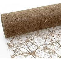 Camino de mesa Sizoweb coco marrón 30 cm papel 25 Meter 64 6464 024-R
