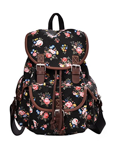 douguyan-schulrucksack-daypack-girls-e00163-schwarz-pflingstrose-muster