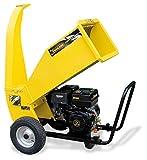 Garland CHIPPER 1280 QG - Biotriturador a gasolina, 4T - 389 cc - Tritura hasta 3,2