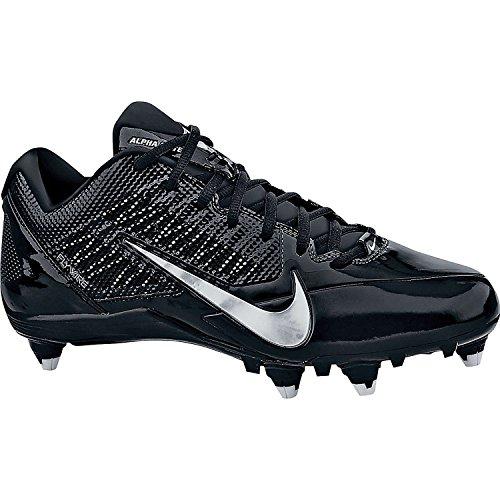 Hommes Alpha Pro Football Crampons 00 002 Sport Entraîneur Chaussures BLACK///METALLIC SILVER