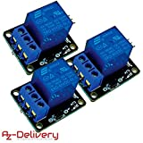 AZDelivery ⭐⭐⭐⭐⭐ 3 x 1-Relais 5V KY-019 Modul High-Level-Trigger für Arduino inklusive eBook