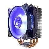 Cooler Master MasterAir MA410P RGB Ventilateurs de processeur '4 Heatpipes, 1 x MasterFan AB 120 RGB Ventilateur, LED RGB' MAP-T4PN-220PC-R1