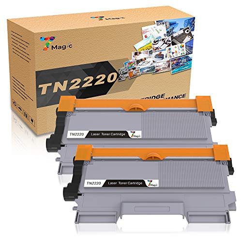 TN2220 Toner, 7Magic Cartucho de Tóner Compatible Brother TN2210 TN2010 Cartucho de Tóner Para Brother MFC-7360N MFC-7360 DCP-7055 DCP-7055W DCP-7065DN HL-2130 HL-2135W HL-2240