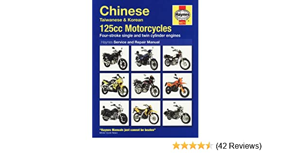 Chinese 125 motorcycles service and repair manual service repair chinese 125 motorcycles service and repair manual service repair manuals amazon matthew coombs 9781844258710 books fandeluxe Gallery