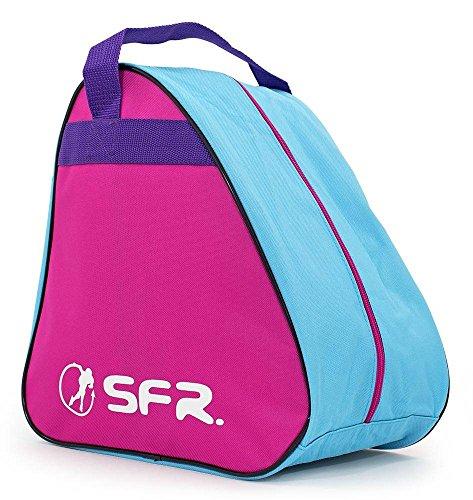 Sfr Skates Unisex-Erwachsene SFR Vision Skate Bag Stofftasche, Grau (Gris), 24x15x45 centimeters