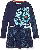 Desigual Mädchen Kleid Vest_EL Cairo, Blau (Twilight Blue 5128), 140 (Herstellergröße: 9/10)