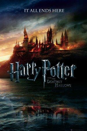 Affiche 'Harry Potter et les Reliques de la Mort', Taille: 61 x 91 cm