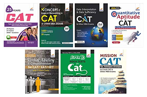 Study Package for CAT & Other MBA Entrance Exams with 10 Mock Tests