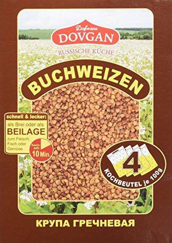 Dovgan Buchweizen – Portionsbeutel, 5er Pack (5 x 400 g)