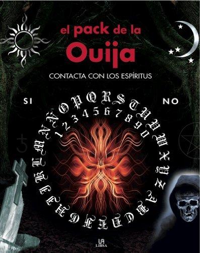 Portada del libro El pack de la Ouija / The Ouija Board Pack: Contacta con los espiritus / Contact the Spirits by Agnes Haddock (2009-10-30)