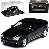 Mercedes-Benz C-Klasse Sport Coupe Schwarz W203 2000-2007 H0 1/87 Herpa Modell Auto mit oder ohne individiuellem...
