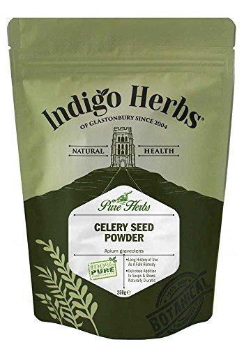 Indigo Herbs Selleriesamen Pulver 250g