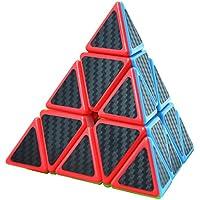 Maomaoyu Pyraminx Speed Cube 3x3x3 3x3 Fibra De Carbono Cubo Magico Negro - Peluches y Puzzles precios baratos