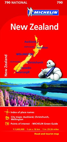 Michelin New Zealand Map