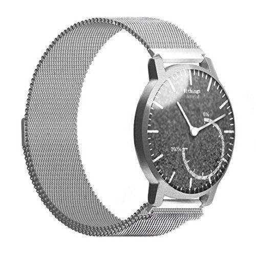 ularma-withings-activite-armband-mailander-edelstahl-band-ersatzarmband-silber