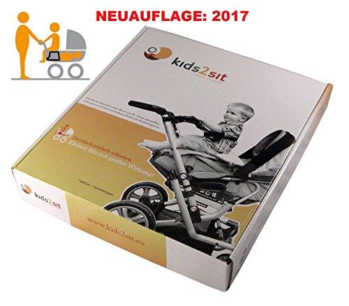 kids2sit Geschwistersitz Zusatzsitz für Kinderwagen Geschwisterwagen Modell 2017