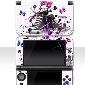 "Nintendo NEW 3DS XL Skin "" MY CHUCKS "" Aufkleber Sticker Folie Schutzfolie"