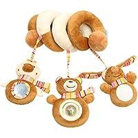 Acme Acme Kinderwagenkette Mit Pluschtiere Spielzeug Fur Babybett