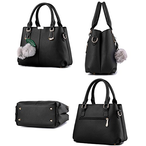 Ruiren Multifunktions Travel Shopping Soft Tasche Portable Schultertasche Frauen Messenger Bags Frauen Handtasche Schultertasche Radiergummi Violett