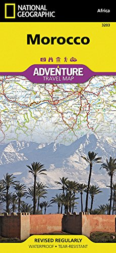 Morocco: Travel Maps International Adventure Map