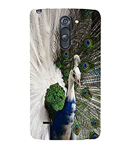 COLOURFUL PEACOCK Designer Back Case Cover for LG G3 Stylus::LG G3 Stylus D690N::LG G3 Stylus D690