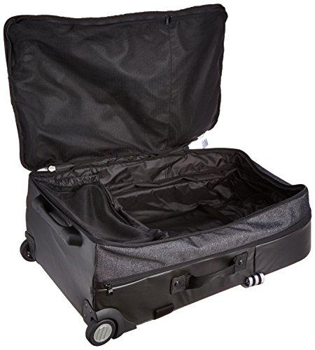 adidas Rollkoffer Team Travel Trolley, Schwarz/Weiß, 42 x 73 x 29 cm, 100 Liter, AI3821 Black/White