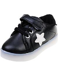 1 Par LED Zapatillas De Deporte Zapatos Transpirables Para Niños