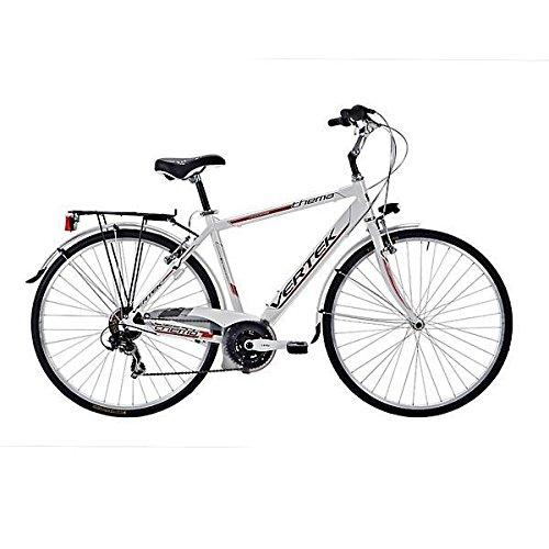 VERTEK BICICLETA TEMA 28HOMBRE 7VELOCIDAD COLOR BLANCO/MARRON (CITY)/BICYCLE TEMA 28FOR MAN 7SPEED WHITE/BROWN (CITY)