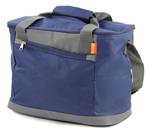 Cool de colores brillantes bolsas–Ideal para el almuerzo, playa, Picnics, Camping, azul