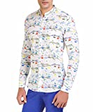 Color-Buckket Men's Casual Shirt (CB523_...